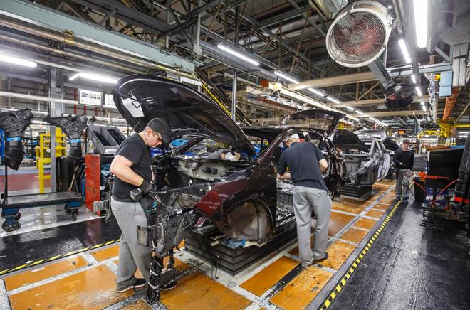 英国汽车工厂关闭将造成82亿英镑损失 全年产量减少25.7万台