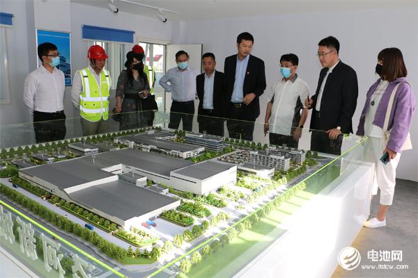 中国电池新能源产业链调研团一行参观调研古迪纳福
