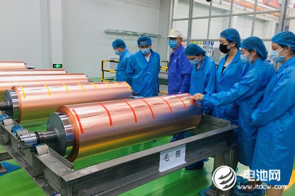 金川铜业锂电铜箔项目稳步推进中
