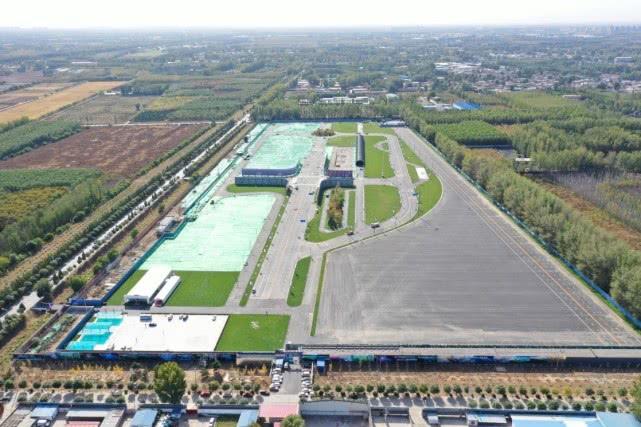 国家智能汽车与智慧交通(京冀)示范区顺义基地航拍图