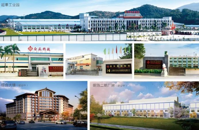 超华科技拟122.6亿投建新材料产业基地 扩产10万吨铜箔等项目