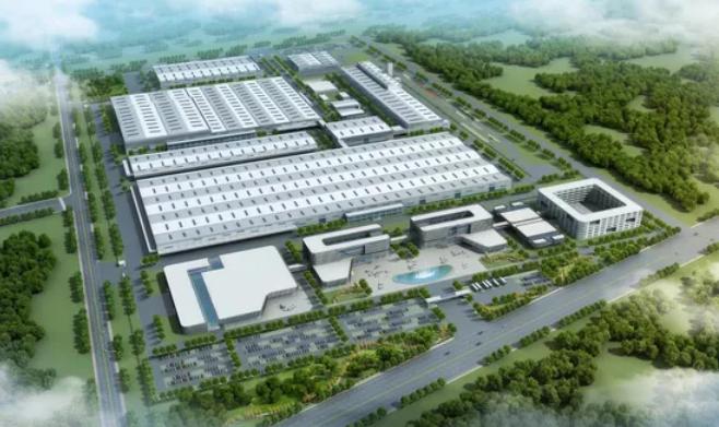 北京汽车制造厂(青岛)有限公司整车制造总部基地效果图