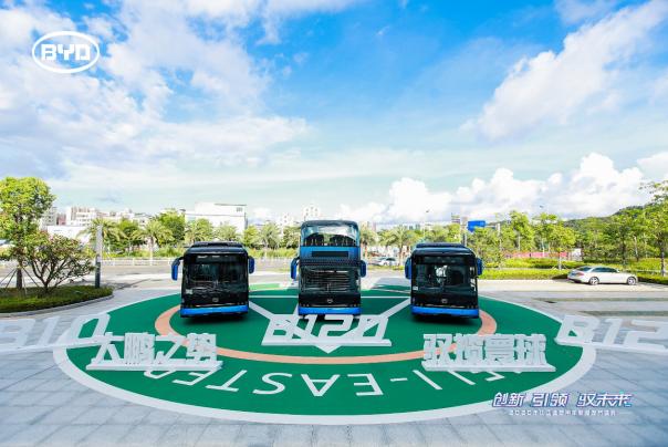 纯电动商用车,新能源汽车,电动汽车,比亚迪