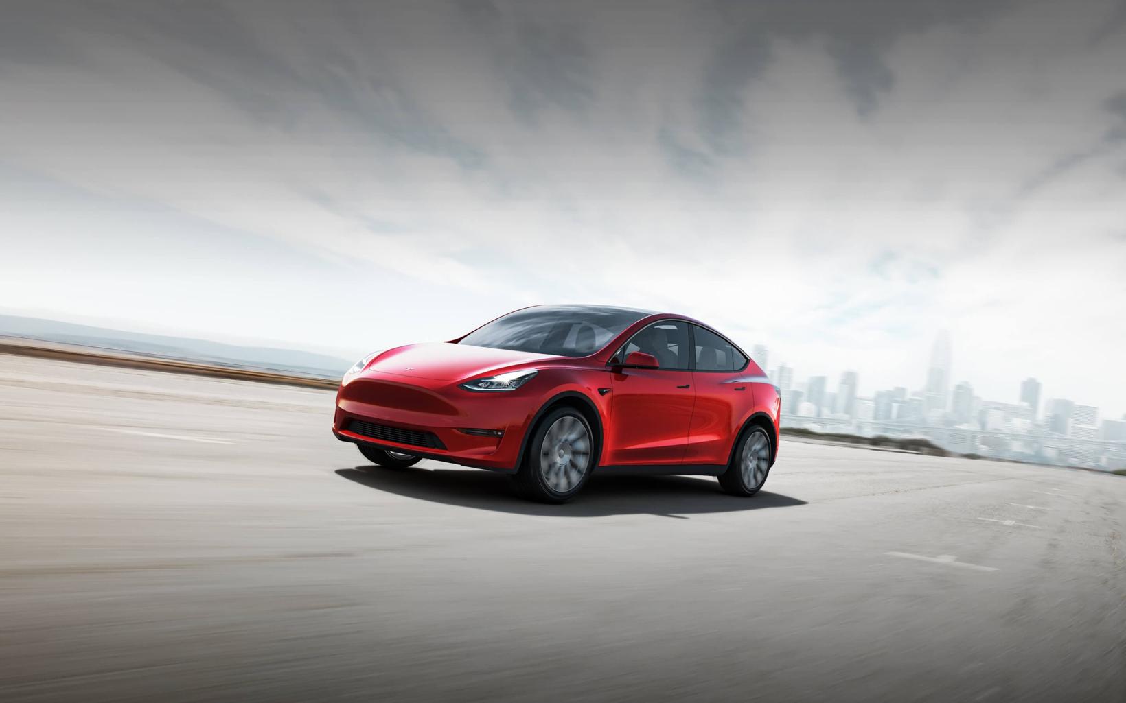 特斯拉股价突破2000美元 国产Model Y明年到来