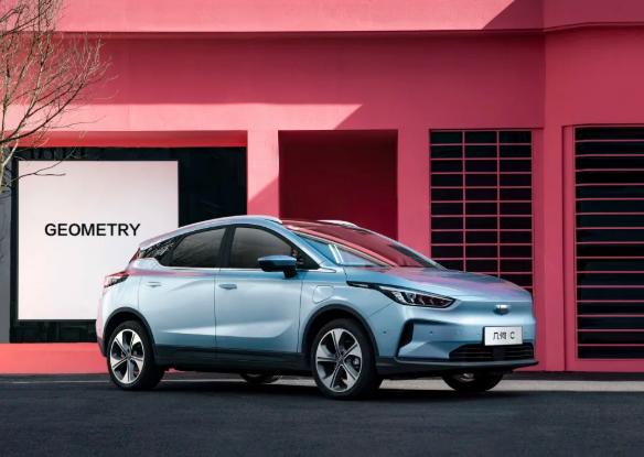 几何品牌旗下首款纯电SUV 几何C  图片来源:吉利汽车