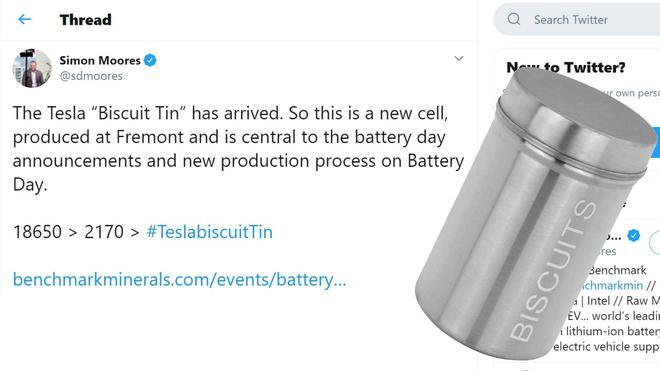 特斯拉新电池图片首次曝光 采用无极耳设计/或命名为饼干盒