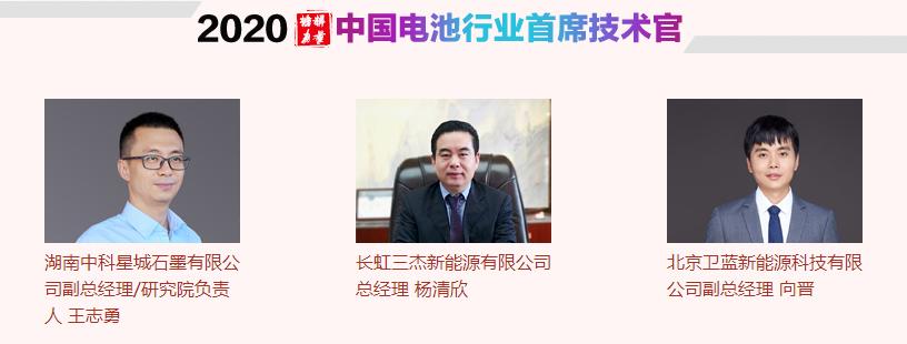 中国电池行业首席技术官