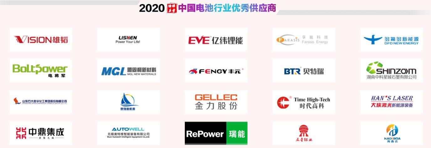 中国电池行业优秀供应商