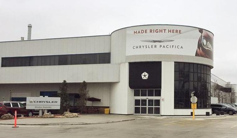 图注:FCA温莎组装工厂