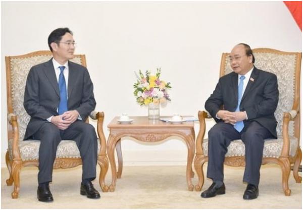 越南总理会见三星电子副总裁 三星或在越南建电动汽车电池厂