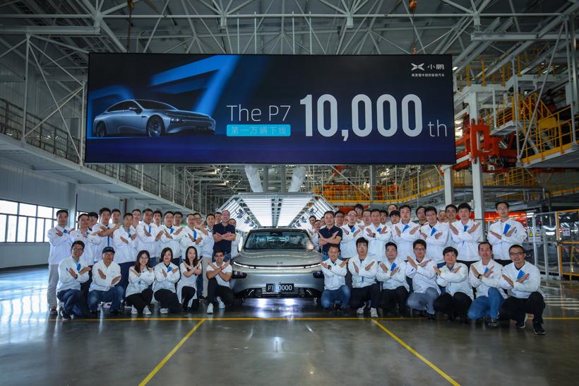 跨过万辆交付门槛 头部造车新势力将进入全面比拼时代