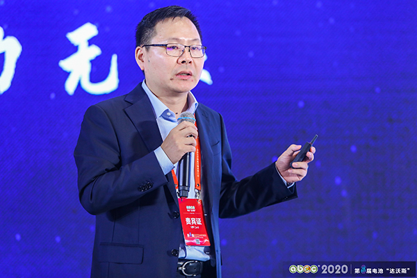 弗迪电池有限公司副总经理兼大电池开发中心总监孙华军