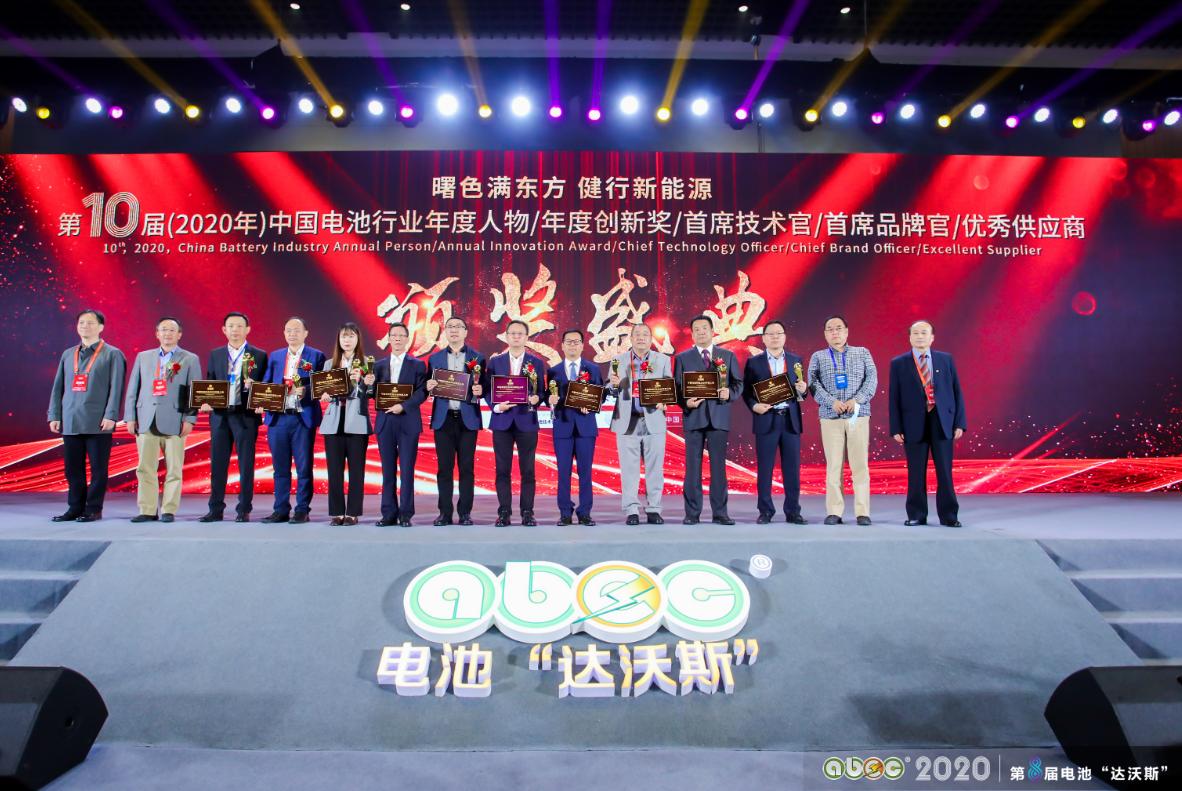 10届中国电池行业年度人物