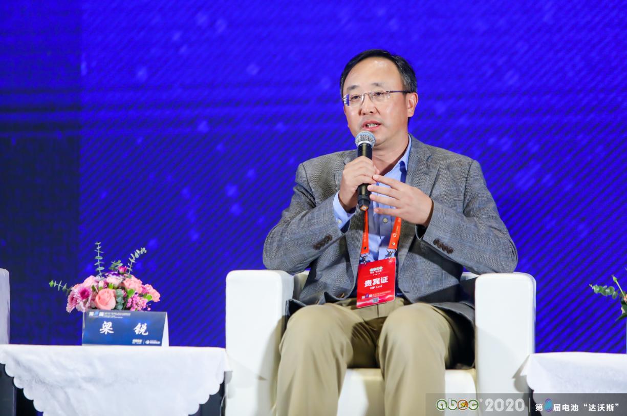 欣旺达电子股份有限公司副总裁梁锐