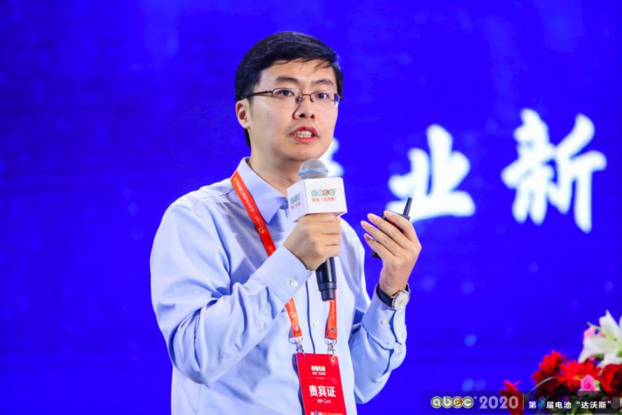 苏州清陶新能源科技有限公司总经理何泓材