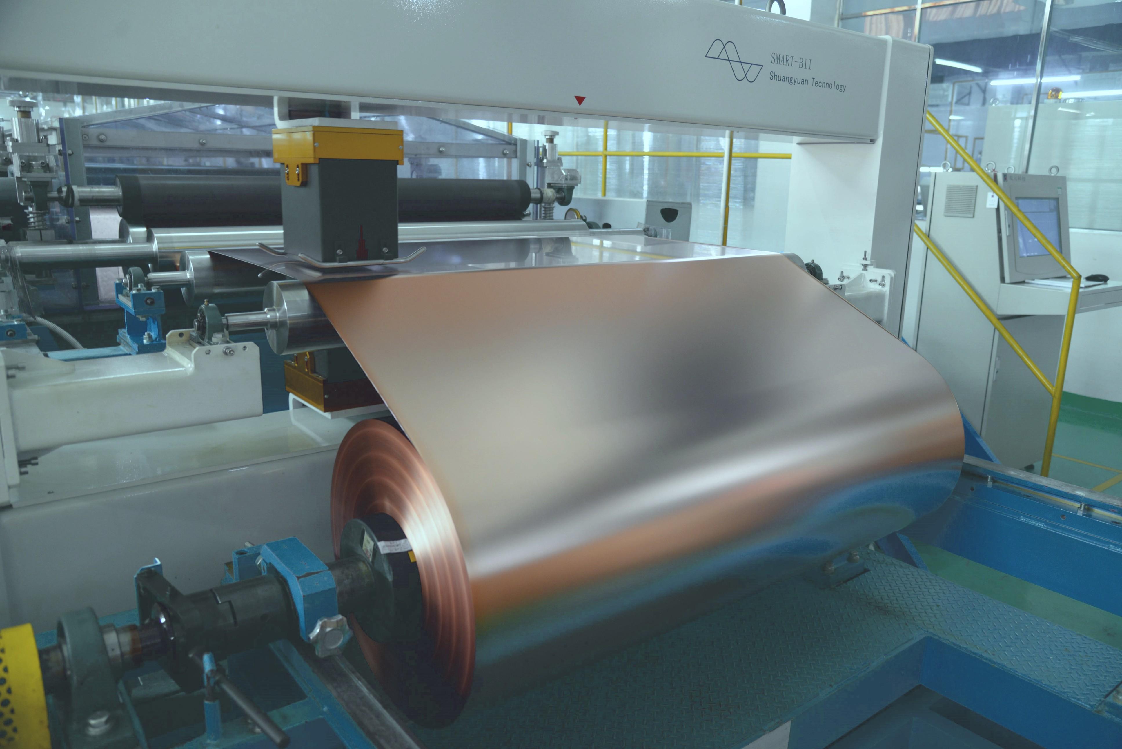 嘉元科技:现有铜箔产能1.6万吨/年 在建及规划产能3.5万吨
