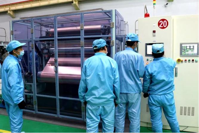 宝鑫电子三期一段年产5000吨锂电铜箔项目投产