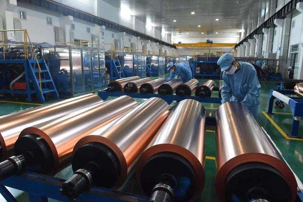 铜冠铜箔创业板IPO获受理 募资扩产储能用超薄电子铜箔等项目