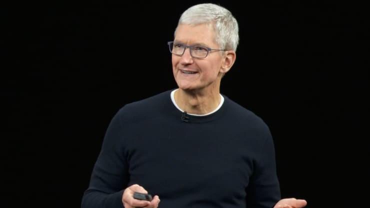 苹果首席执行官蒂姆·库克