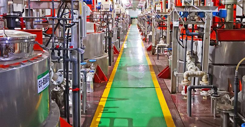 格林美高镍三元电池材料制造车间  图片来源:格林美官网