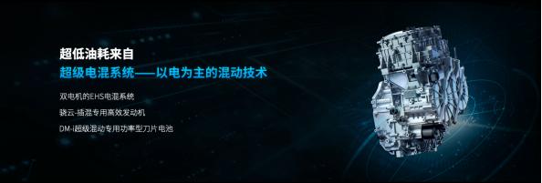 "DM-i超級混動""三劍齊發"" 降維打擊同級別燃油車"