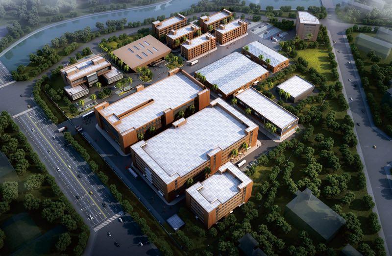 惠州豪鵬工業園俯瞰圖