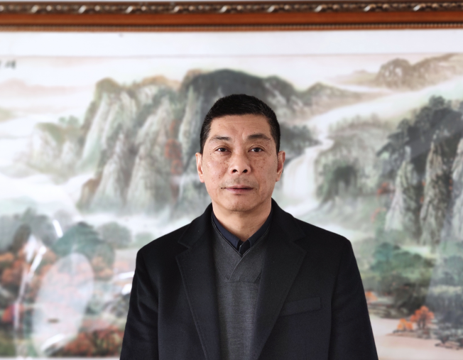 浙江爱科新材料有限公司总经理蔡赛忠