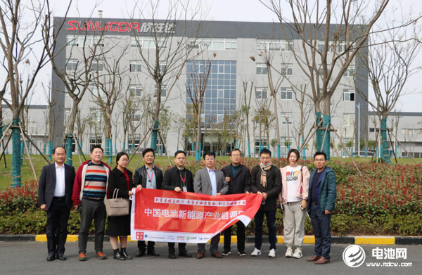 2021年中国电池新能源产业链调研团一行参观考察南京欣旺达