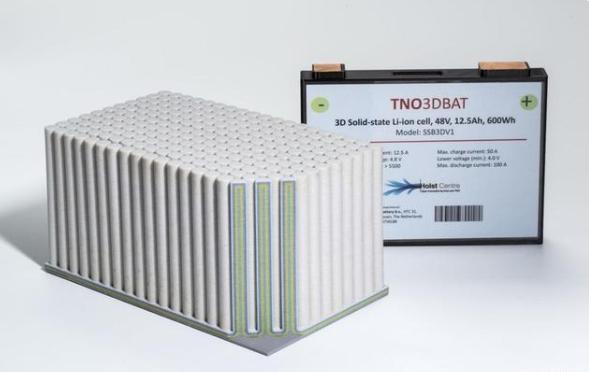 避免爆炸或着火风险!荷兰一公司开发3D固态薄膜电池