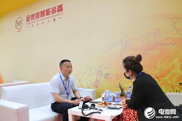 金银河锂电装备事业部总经理李小云