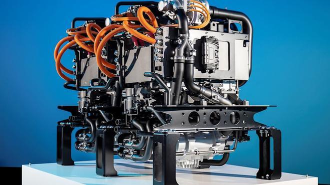 戴姆勒,沃尔沃,氢燃料电池