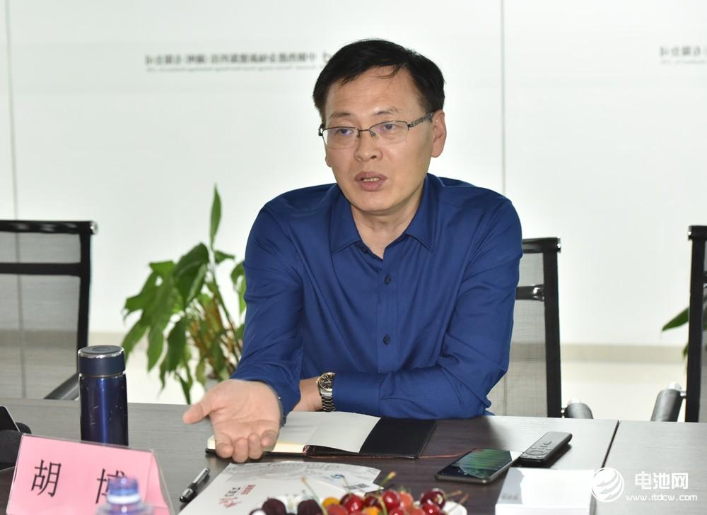金灿科技总经理胡博
