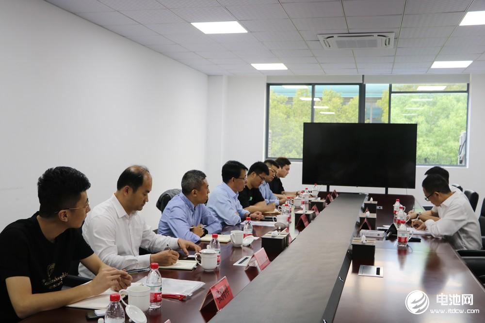 2021年中国电池新能源产业链调研团参观考察天能股份