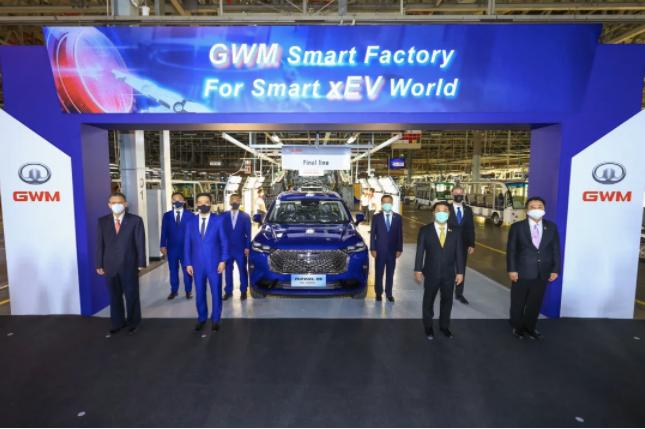 长城汽车海外第二家全工艺整车工厂投产 哈弗H6 HEV下线
