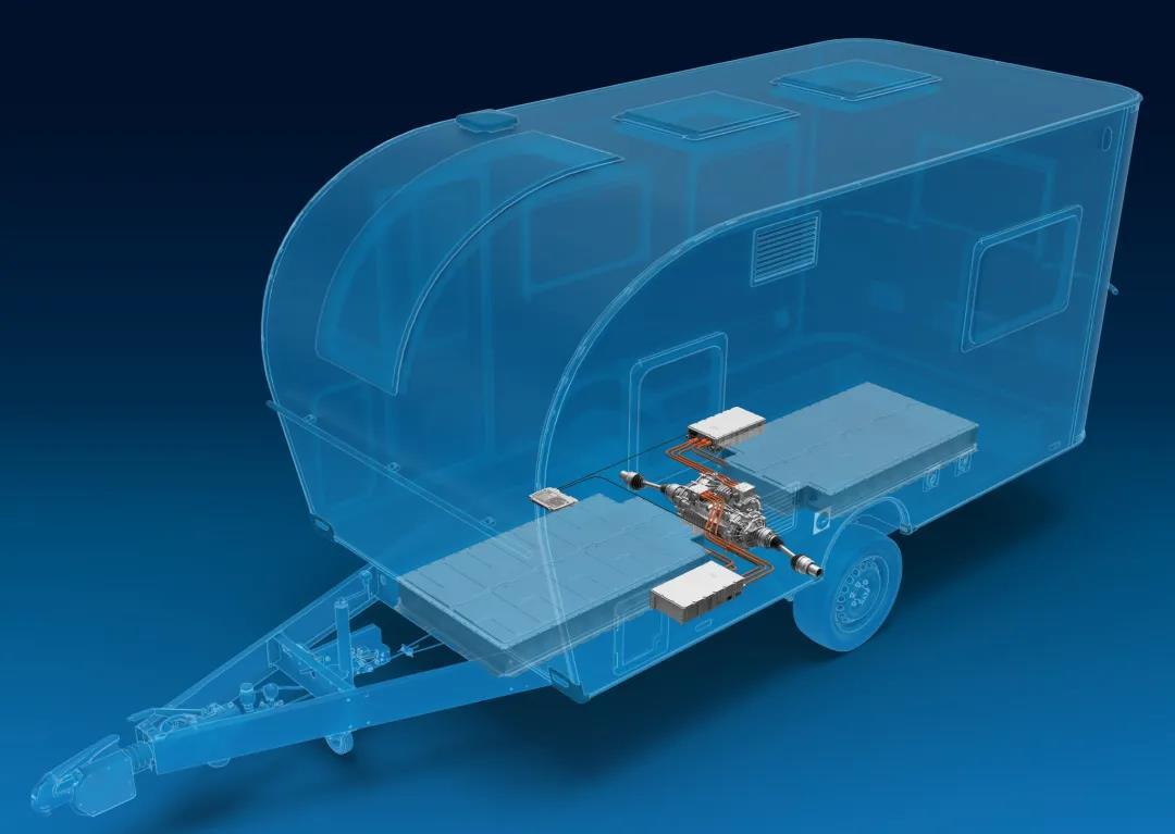 搭载采埃孚传动系统的电动拖挂式房车全球首发