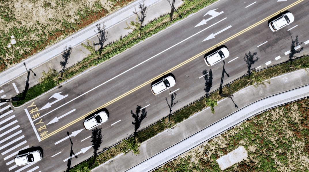 图/百度自动驾驶汽车