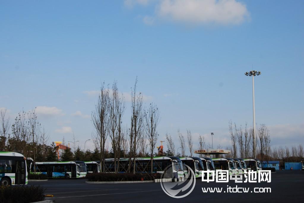 青岛纯电动汽车安全行驶总里程超千万公里高清图片